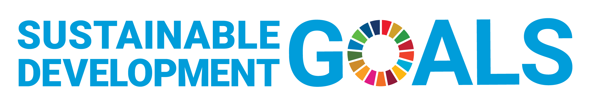 Logo of the Sustainable Development Goals